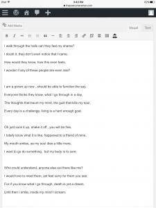 Poem #7 Tea Kay